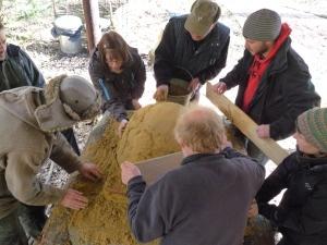 making sand former