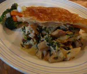 'wild chicken pie'