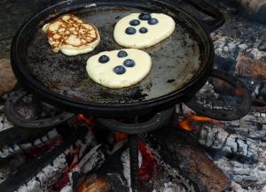 blueberry drop scones